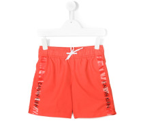- printed swim shorts - kids - Polyester - 8 J.