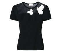 dove embroidered T-shirt