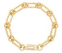 Hammered chain bracelet