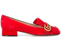 'GG Vamp' Loafer mit Zierlasche - women