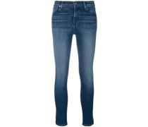 Jeans mit Schlitz am Bein