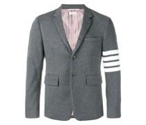 Jersey-Mantel mit Streifen