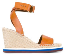 - Wedge-Sandalen mit Bastsohle - women