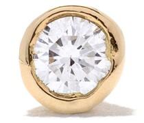 18kt Goldohrstecker mit Diamanten
