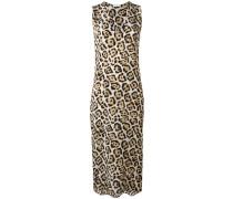 Seidenkleid mit Leoparden-Print - women - Seide