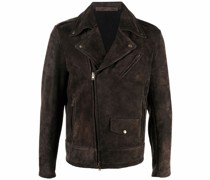 suede-leather jacket