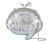 'Ice Queen Speech Bubble' Clutch