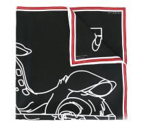 Bambi print scarf