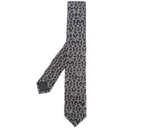 star logo knitted tie