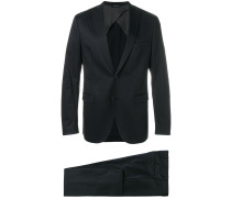 notched lapel two-piece suit