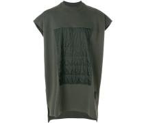 T-Shirt mit wattiertem Einsatz