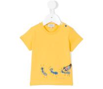 T-Shirt mit Ameise-Print - kids - Baumwolle