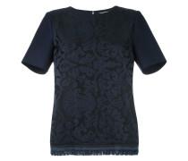 T-Shirt mit Fransensaum - women