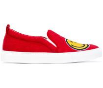 Sneakers mit Smiley-Motiven