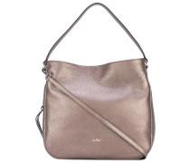metallic hobo bag - women - Kalbsleder