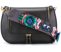 appliqué detail shoulder bag