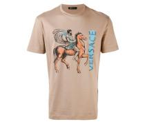 'Pegasus' T-Shirt mit Logo-Print