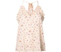 - Florales Camisole-Top mit Gerüchen Details