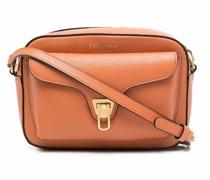 Beat leather shoulder bag