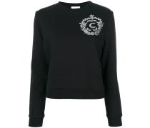 Sweatshirt mit Paillettendetail