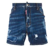 'Dan Commando' Shorts im Distressed-Look
