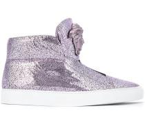 High-Top-Sneakers mit Medusamotiv