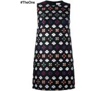 Kleid mit geometrischen Stickereien