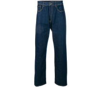 VLTN folded stitch slim fit jeans