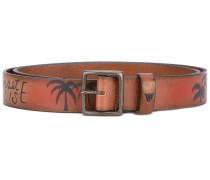 'Sunset Paradise' belt - men - Leder/metal - 85