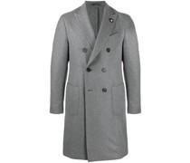 Doppelreihiger Mantel aus Filz