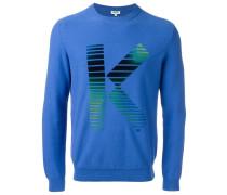'K' Intarsien-Pullover - men - Baumwolle - L