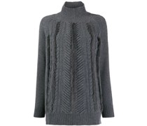 Pullover mit Faux Fur