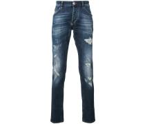 Schmale 'Meiji' Jeans - men - Baumwolle/Elastan