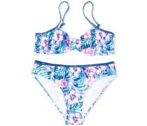 Bikini mit floralem Print - kids