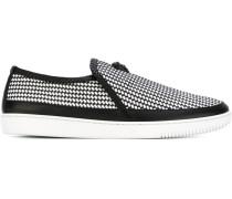Geflochtene Slip-On-Sneakers