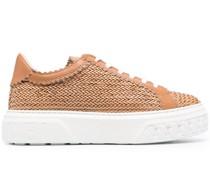 Geflochtene Sneakers