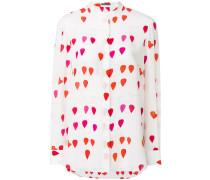 petal print shirt