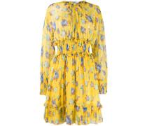 Kurzes Kleid mit Blumenmuster