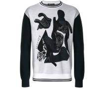 Pullover mit Medusa-Motiv