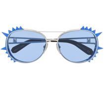 Sonnenbrille mit Stacheln