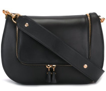 strap embellished shoulder bag