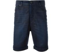 Beschichtete Jeans-Shorts