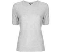 Kaschmir-T-Shirt mit Rundhalsausschnitt