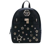 star backpack - women - Leder/Wildleder/metal