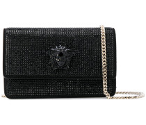 crystal-embellished Medusa Palazzo shoulder bag