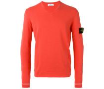 Pullover mit V-Ausschnitt - men - Baumwolle - S
