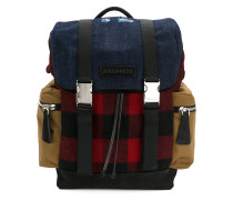 military buckle backpack