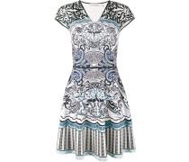 Kleid mit KartenPrint