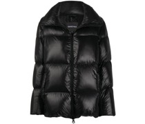 high-neck puffer jacket