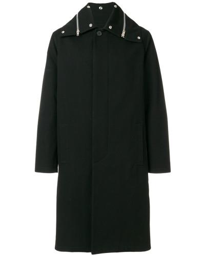 Mantel mit Reißverschlussdetail